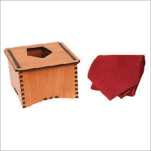 Single Tie with Wooden Box