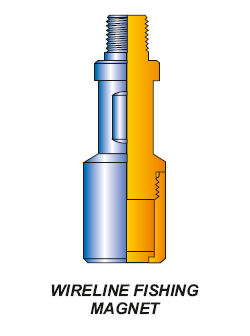 WIRELINE FISHING MAGNETS