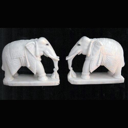 Statue Elephant Marble