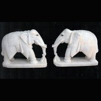 Statue Elephant Marble
