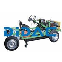 FWD Chassis With Turbo Diesel Engine Fully Functional Cutaway