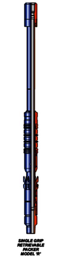 SINGLE GRIP RETRIEVABLE PACKER MODEL 'R'