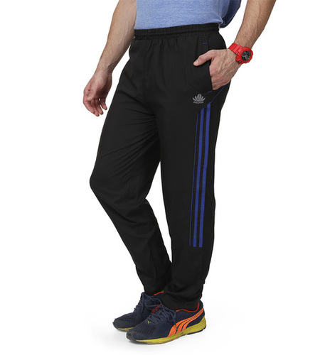 Black & Blue Men's Trackpant