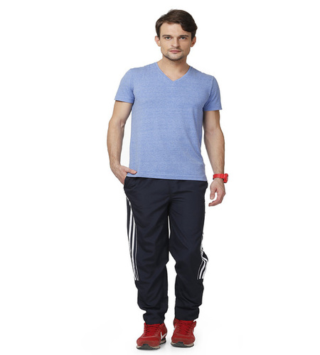 Nevy & white Men's trackpant