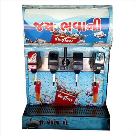 4+1 Valve Soda Machine