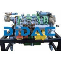 Marine Inboard Diesel Engine Without Inverter Cutaway