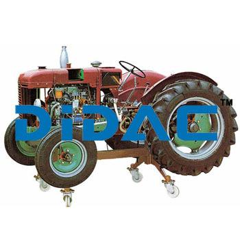 Tyre Wheeled Farm Diesel Tractor FIAT Cutaway
