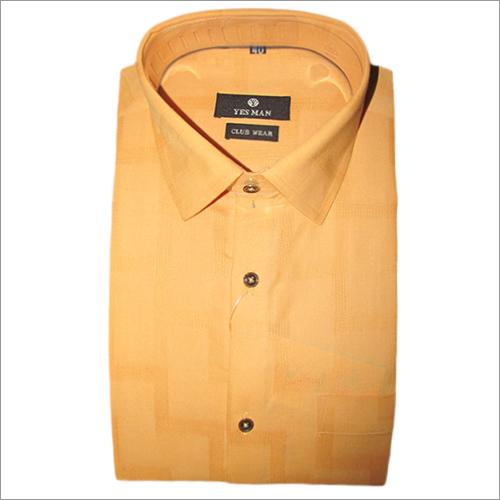 黄色正式衬衣