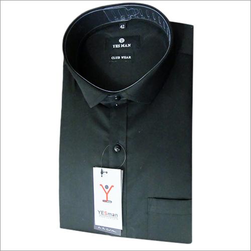 黑正式衬衣