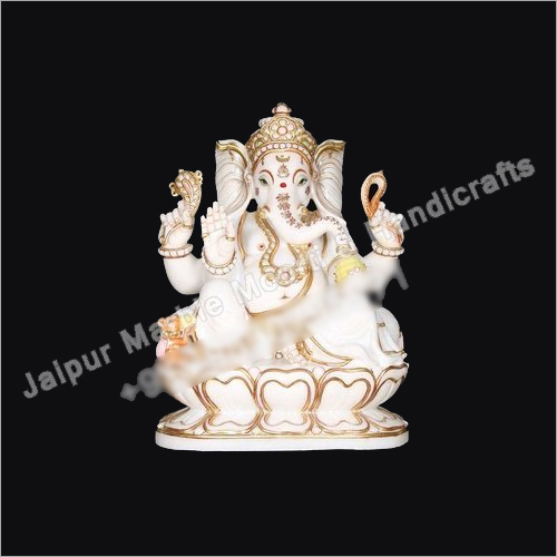 Marble Lord Ganesh Sculpture