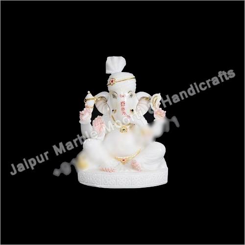 Marble Ganpati Ji Moorti