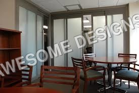 Honeycomb Partition Door
