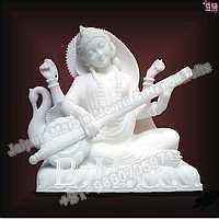 Marble Saraswati Mata