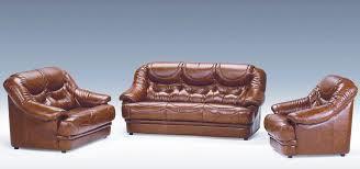 sofa set Brown-01