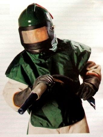 Nova Sand Blasting Helmet