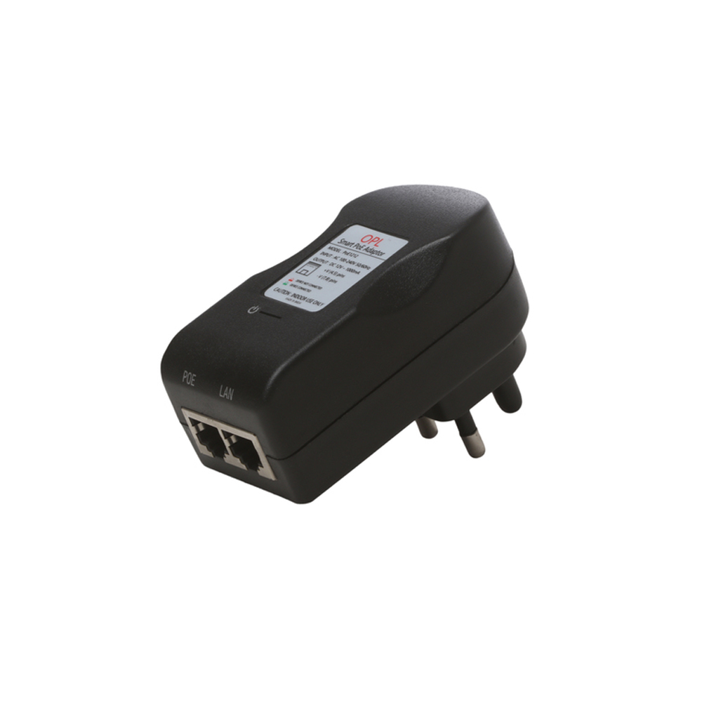 PoE Adapter,24V-0.5A,10/100Mbps PoE Injector/PoE Switch