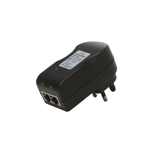 PoE Adapter, 48V-0.25A,10/100Mbps PoE Injector/ PoE Switch