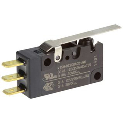 V15W Series-Watertight Miniature Basic Switches