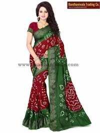 Designer Bandhani Sarees India
