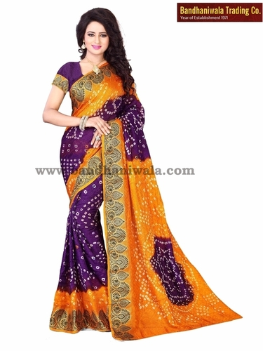 Latest Bandhani Sarees Catalogue