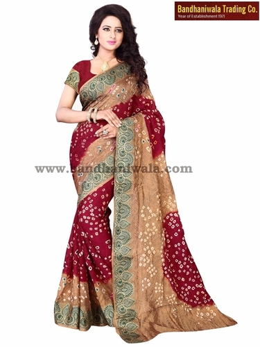 Bandhani Sarees Catalogue