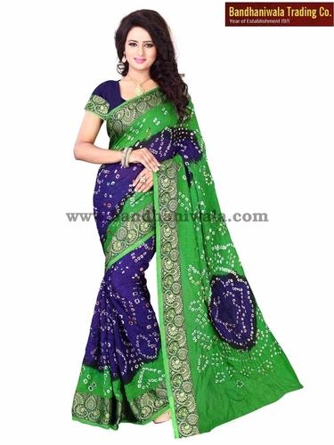 Latest Designer Bandhani Sarees Catalog
