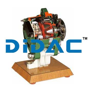 Alternator Single Flow Cooling Cutaway