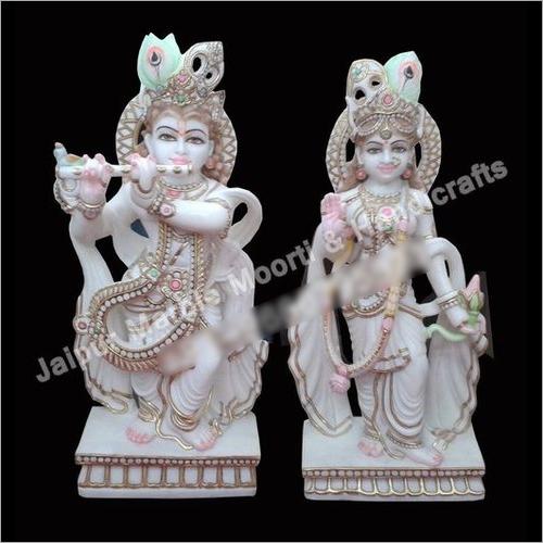 Marble Radha Krishna Murti Idol