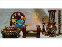Wooden Handicraft Chakki