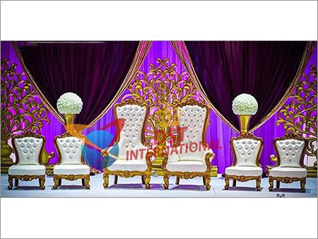 Wedding Bride Groom Chairs