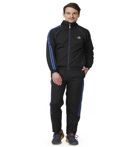 Men's black&blue tracksuit