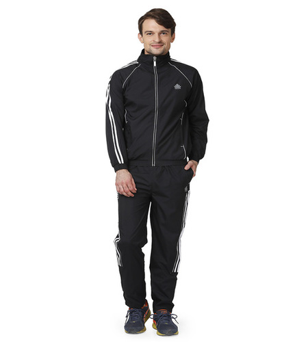 Men's Black & White Tracksuits