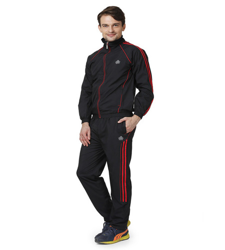 Men's black&red tracksuit