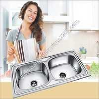 AISI-304 SS Double Bowl Sink