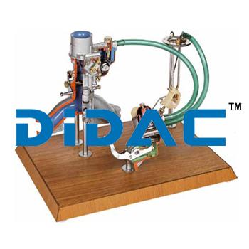 Petrol Engine Feeding Circuit Cutaway