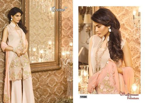 Designer Party Wear Faux Georgette Latest Salwar Kameez