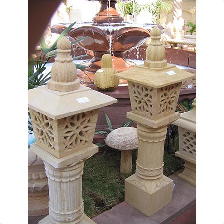 Garden Sand Stone Lamp