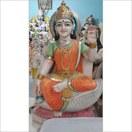 Maa Sarawati Marble Statues