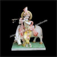 Idol Krishna With Cow