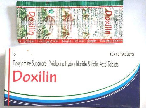 Doxylamine + Pyridoxine + Folic Acid