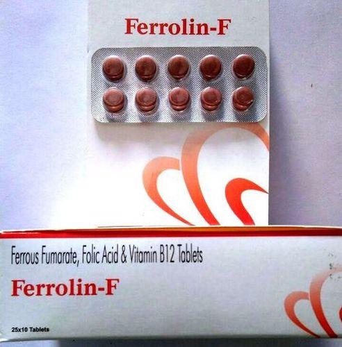 Ferrous fumerate + Folic acid + Vitamin B12