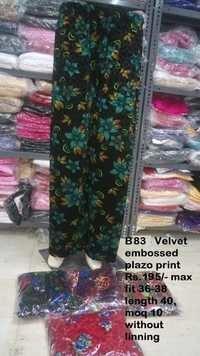 Velvet Embossed