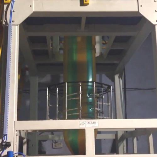LLDPE Blown Film Extrusion Machine