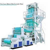 Two Layer Blown Film Extruder Plant