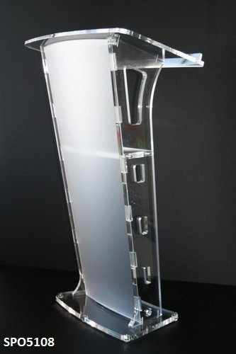 Acrylic Podium & Lecture Stand