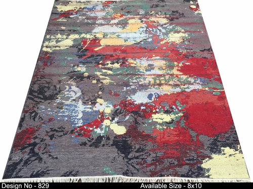Handknotted Contemporary Design Carpet