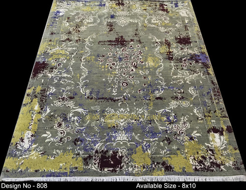 Handknotted Transitional Design