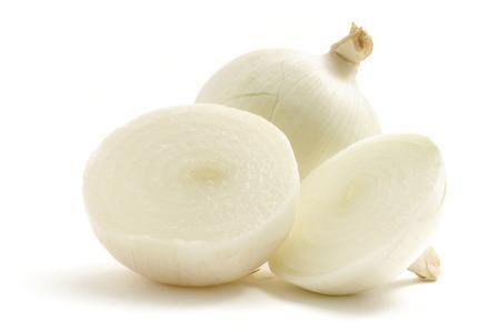 Fresh Cut White Onion