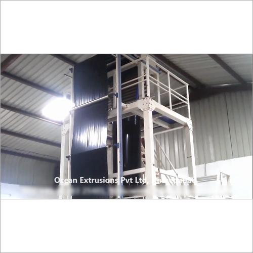 Wide Width LLDPE Blown Film Plant Machine