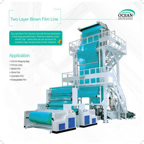 Shopping Bags Blown Film Extrusion Plant